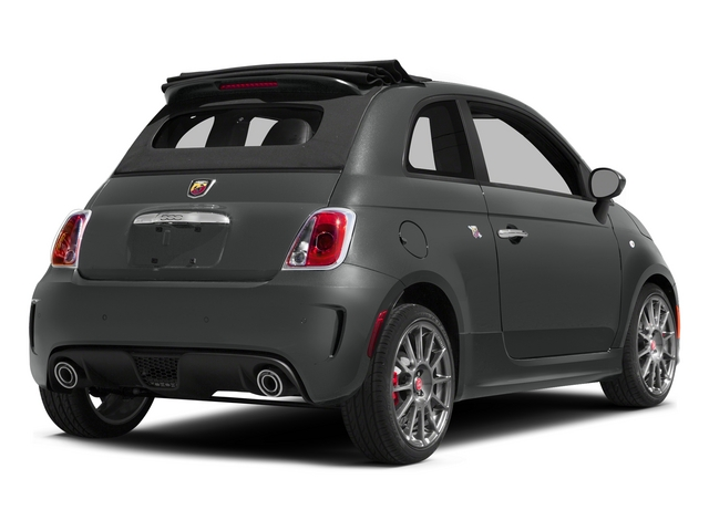 Granito Lucente (Granite Crystal) 2015 FIAT 500c Pictures 500c Convertible 2D Abarth I4 photos rear view