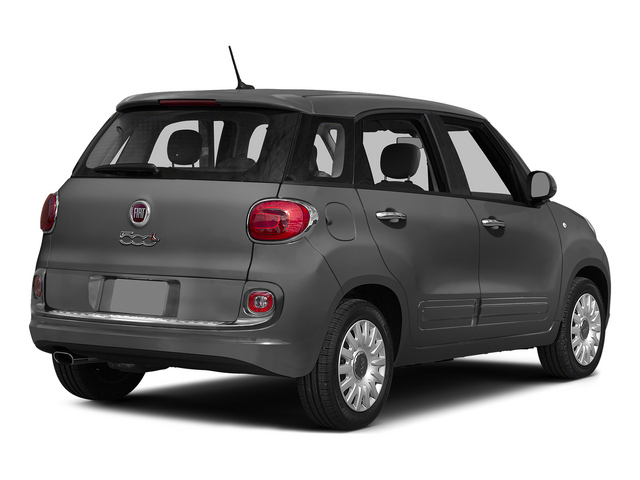 Grigio Scuro (Gray Metallic) 2015 FIAT 500L Pictures 500L Hatchback 5D L Easy I4 Turbo photos rear view