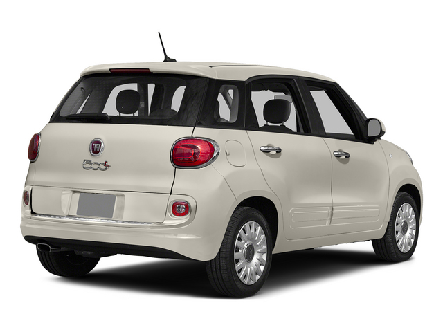 Bianco (White) 2015 FIAT 500L Pictures 500L Hatchback 5D L Easy I4 Turbo photos rear view