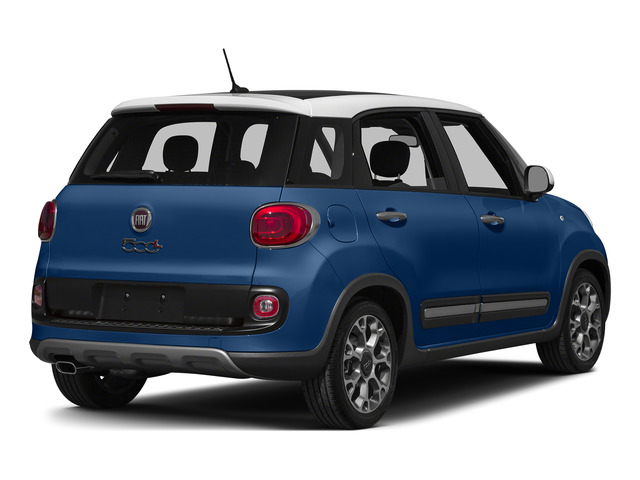 Blue Tornado 2015 FIAT 500L Pictures 500L Hatchback 5D L Trekking I4 Turbo photos rear view