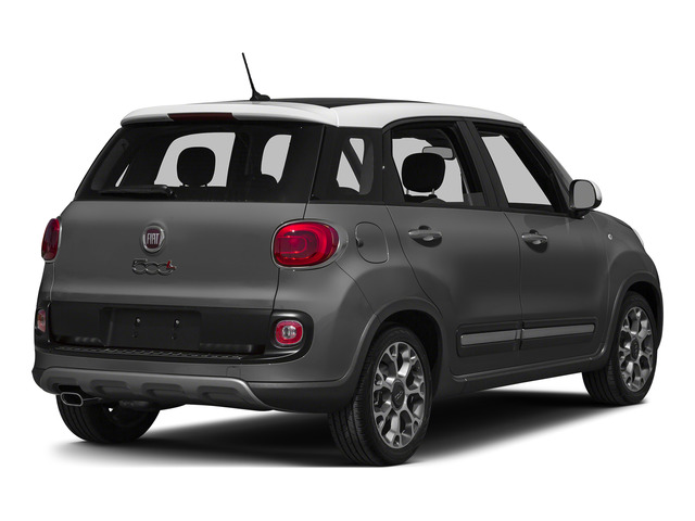 Grigio Scuro (Gray Metallic) 2015 FIAT 500L Pictures 500L Hatchback 5D L Trekking I4 Turbo photos rear view