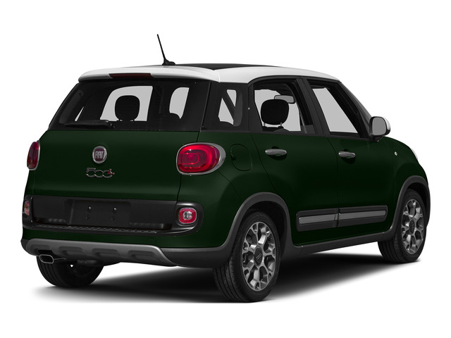 Verde Bosco Perla (Forest Green) 2015 FIAT 500L Pictures 500L Hatchback 5D L Trekking I4 Turbo photos rear view