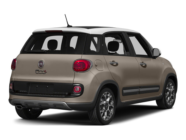 Mocha Latte 2015 FIAT 500L Pictures 500L Hatchback 5D L Trekking I4 Turbo photos rear view