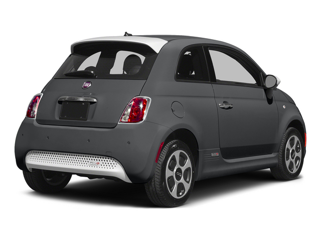 Granito Lucente (Granite Crystal) 2015 FIAT 500e Pictures 500e Hatchback 3D 500e Electric photos rear view