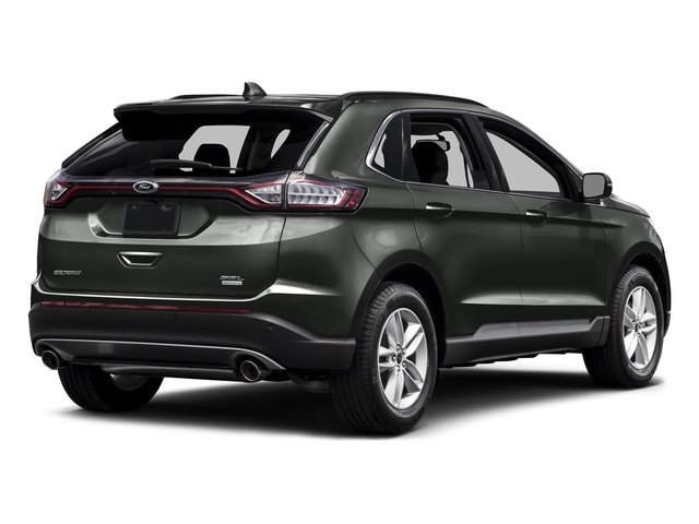 Magnetic Metallic 2015 Ford Edge Pictures Edge Utility 4D SE AWD I4 Turbo photos rear view