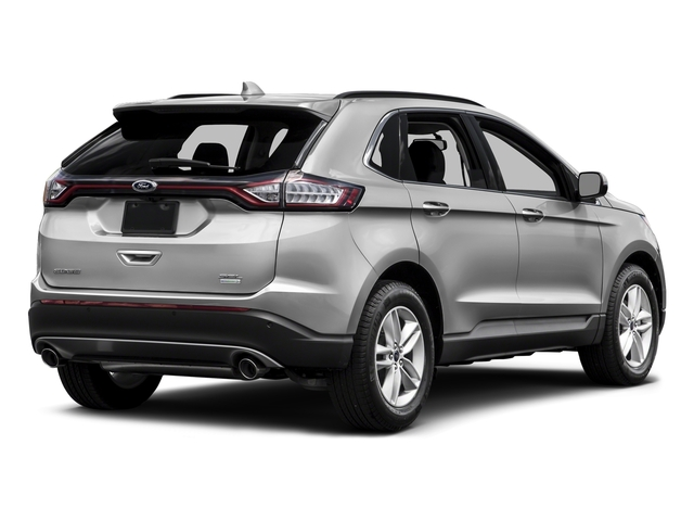 Ingot Silver Metallic 2015 Ford Edge Pictures Edge Utility 4D SE AWD I4 Turbo photos rear view