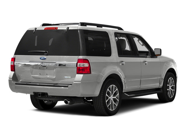 White Platinum Metallic Tri-Coat 2015 Ford Expedition Pictures Expedition Utility 4D XLT 4WD photos rear view