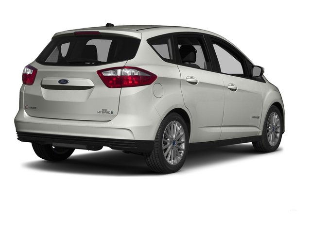 Oxford White 2015 Ford C-Max Hybrid Pictures C-Max Hybrid Hatchback 5D SEL I4 Hybrid photos rear view