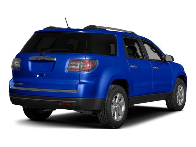 Dark Sapphire Blue Metallic 2015 GMC Acadia Pictures Acadia Utility 4D SLT AWD photos rear view