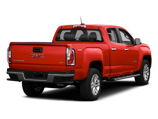 Cardinal Red 2015 GMC Canyon Pictures Canyon Crew Cab SLE 2WD photos rear view