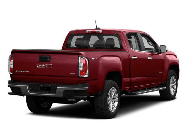 Copper Red Metallic 2015 GMC Canyon Pictures Canyon Crew Cab SLE 2WD photos rear view