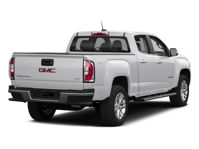 Summit White 2015 GMC Canyon Pictures Canyon Crew Cab SLT 2WD photos rear view