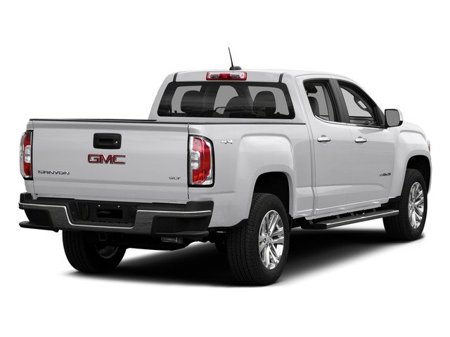 Summit White 2015 GMC Canyon Pictures Canyon Crew Cab SLE 2WD photos rear view
