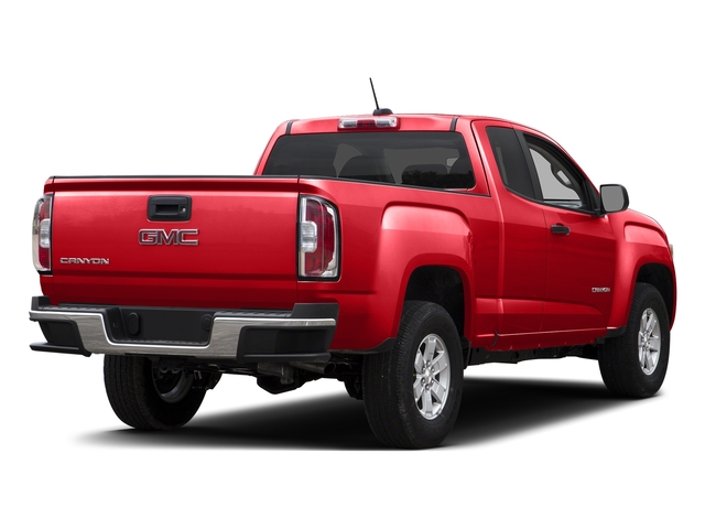 Cardinal Red 2015 GMC Canyon Pictures Canyon Extended Cab SLE 2WD photos rear view