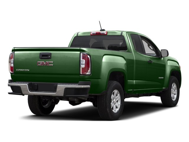 Emerald Green Metallic 2015 GMC Canyon Pictures Canyon Extended Cab SLE 2WD photos rear view