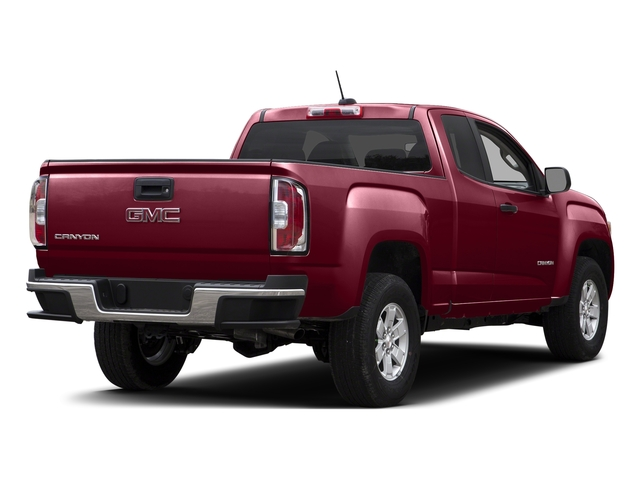 Copper Red Metallic 2015 GMC Canyon Pictures Canyon Extended Cab SLE 2WD photos rear view