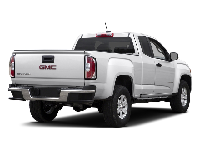 Summit White 2015 GMC Canyon Pictures Canyon Extended Cab SLE 2WD photos rear view