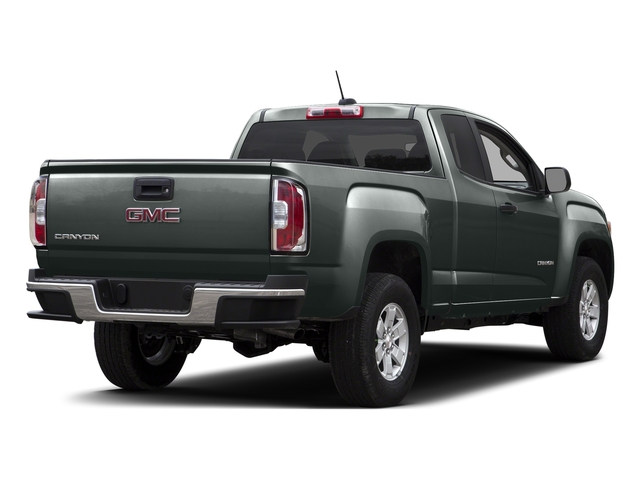 Cyber Gray Metallic 2015 GMC Canyon Pictures Canyon Extended Cab SLE 2WD photos rear view