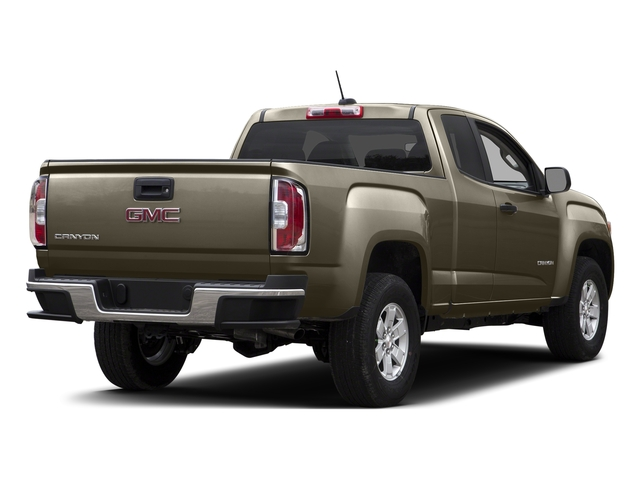 Bronze Alloy Metallic 2015 GMC Canyon Pictures Canyon Extended Cab SLE 2WD photos rear view