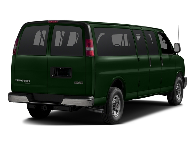 Emerald Green Metallic 2015 GMC Savana Passenger Pictures Savana Passenger Savana LT 135 photos rear view