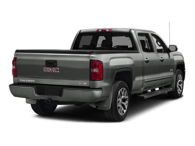 Light Steel Gray Metallic 2015 GMC Sierra 1500 Pictures Sierra 1500 Crew Cab SLE 2WD photos rear view