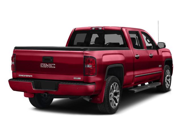 Fire Red 2015 GMC Sierra 1500 Pictures Sierra 1500 Crew Cab SLE 2WD photos rear view
