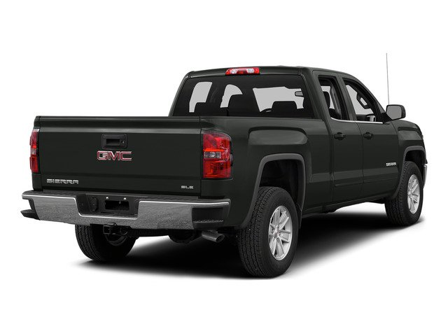 Light Steel Gray Metallic 2015 GMC Sierra 1500 Pictures Sierra 1500 Extended Cab SLE 4WD photos rear view