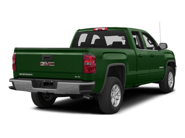 Emerald Green Metallic 2015 GMC Sierra 1500 Pictures Sierra 1500 Extended Cab SLT 4WD photos rear view