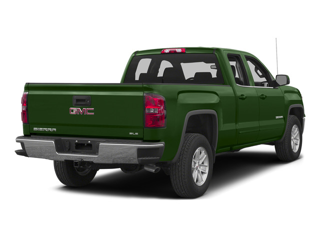 Emerald Green Metallic 2015 GMC Sierra 1500 Pictures Sierra 1500 Extended Cab SLE 4WD photos rear view