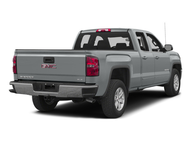 Quicksilver Metallic 2015 GMC Sierra 1500 Pictures Sierra 1500 Extended Cab SLE 4WD photos rear view
