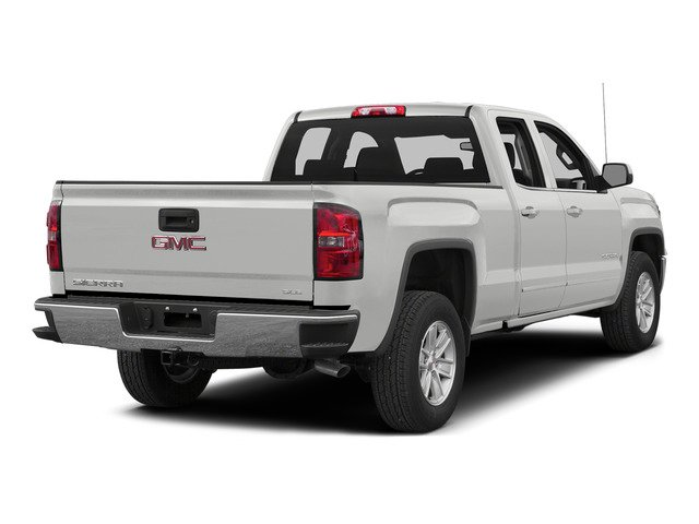 Summit White 2015 GMC Sierra 1500 Pictures Sierra 1500 Extended Cab SLT 4WD photos rear view