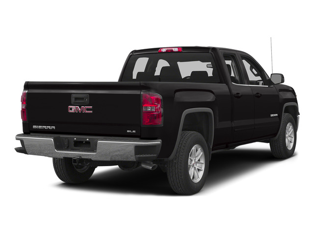 Onyx Black 2015 GMC Sierra 1500 Pictures Sierra 1500 Extended Cab SLT 4WD photos rear view
