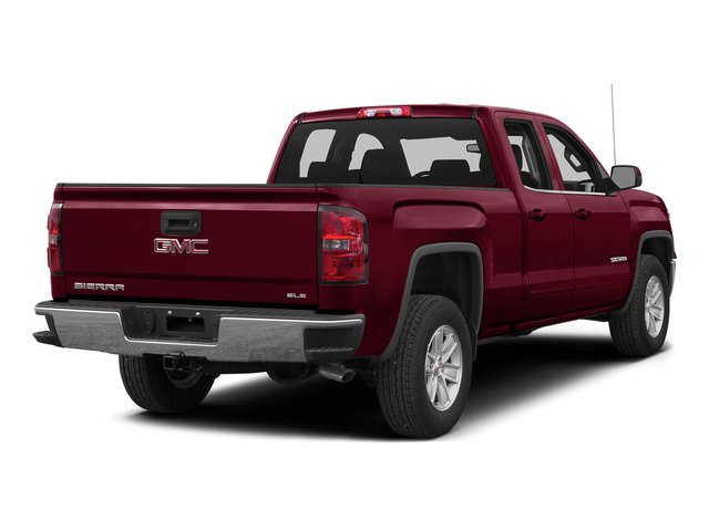 Sonoma Red Metallic 2015 GMC Sierra 1500 Pictures Sierra 1500 Extended Cab SLE 4WD photos rear view