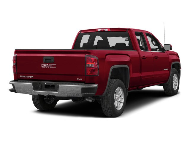 Fire Red 2015 GMC Sierra 1500 Pictures Sierra 1500 Extended Cab SLT 4WD photos rear view