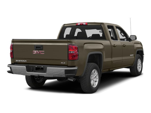 Bronze Alloy Metallic 2015 GMC Sierra 1500 Pictures Sierra 1500 Extended Cab SLE 4WD photos rear view