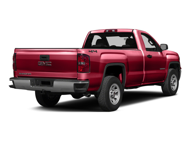 Fire Red 2015 GMC Sierra 1500 Pictures Sierra 1500 Regular Cab SLE 4WD photos rear view