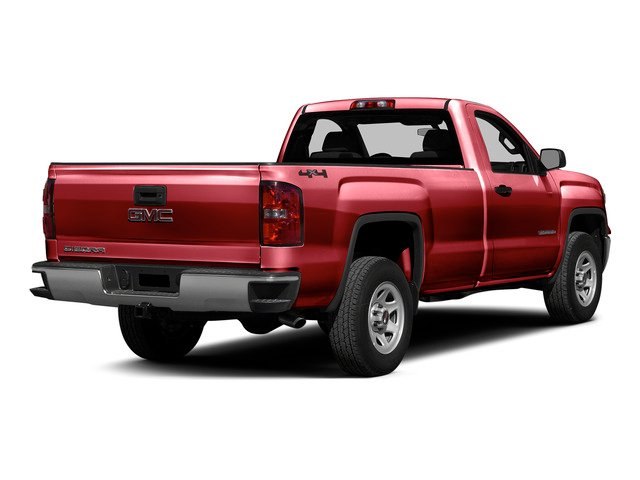 Fire Red 2015 GMC Sierra 1500 Pictures Sierra 1500 Regular Cab 2WD photos rear view