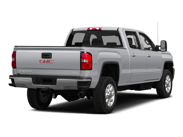 Quicksilver Metallic 2015 GMC Sierra 2500HD Pictures Sierra 2500HD Crew Cab Work Truck 4WD photos rear view