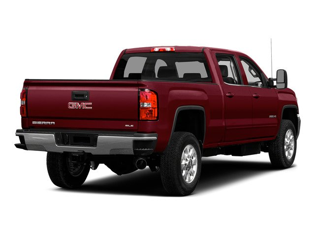 Sonoma Red Metallic 2015 GMC Sierra 2500HD Pictures Sierra 2500HD Crew Cab Work Truck 4WD photos rear view