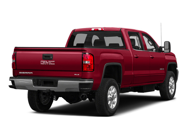 Fire Red 2015 GMC Sierra 2500HD Pictures Sierra 2500HD Crew Cab Work Truck 4WD photos rear view
