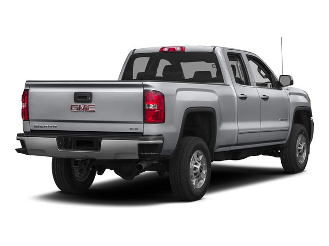 Quicksilver Metallic 2015 GMC Sierra 2500HD Pictures Sierra 2500HD Extended Cab SLT 4WD photos rear view