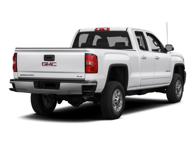 Summit White 2015 GMC Sierra 2500HD Pictures Sierra 2500HD Extended Cab SLT 4WD photos rear view