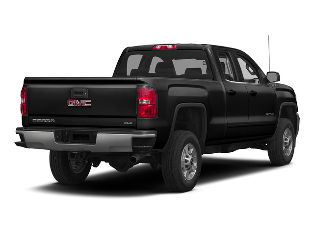Onyx Black 2015 GMC Sierra 2500HD Pictures Sierra 2500HD Extended Cab SLT 4WD photos rear view