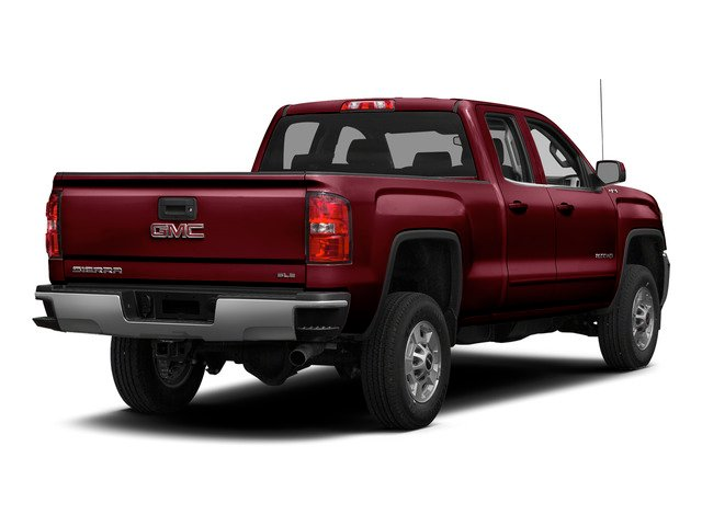 Sonoma Red Metallic 2015 GMC Sierra 2500HD Pictures Sierra 2500HD Extended Cab SLT 4WD photos rear view