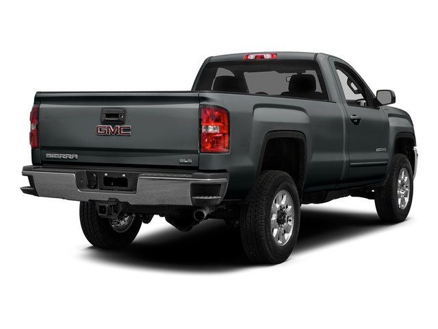 Stealth Gray Metallic 2015 GMC Sierra 2500HD Pictures Sierra 2500HD Regular Cab Work Truck 2WD photos rear view