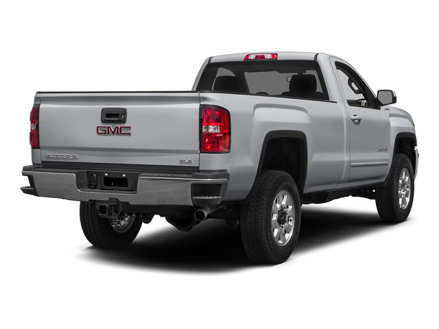 Quicksilver Metallic 2015 GMC Sierra 2500HD Pictures Sierra 2500HD Regular Cab Work Truck 2WD photos rear view