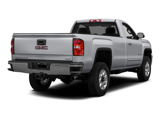 Quicksilver Metallic 2015 GMC Sierra 2500HD Pictures Sierra 2500HD Regular Cab SLE 4WD photos rear view