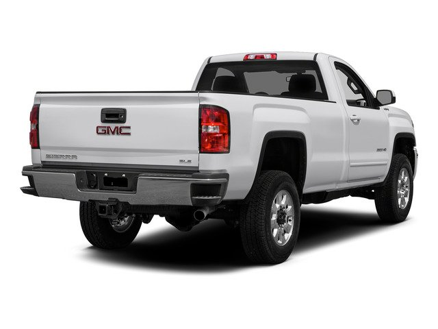 Summit White 2015 GMC Sierra 2500HD Pictures Sierra 2500HD Regular Cab Work Truck 2WD photos rear view