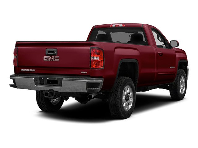 Sonoma Red Metallic 2015 GMC Sierra 2500HD Pictures Sierra 2500HD Regular Cab Work Truck 2WD photos rear view