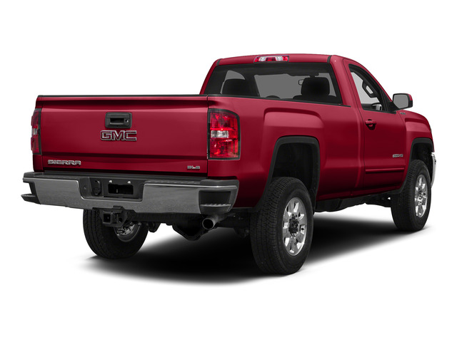 Fire Red 2015 GMC Sierra 2500HD Pictures Sierra 2500HD Regular Cab SLE 4WD photos rear view